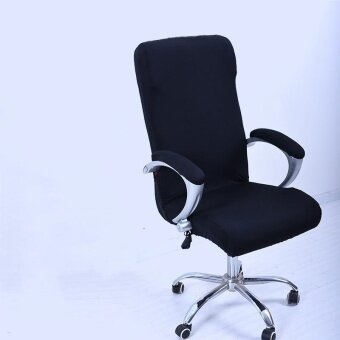 S Spandex Office Chair Cover Slipcover Armrest Cover Computer Seat Cover Stool Swivel Chair Elastic(Chair is NOT included) - intl