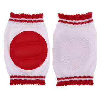 Harga Safety Crawling Elbow Cushion Infant Toddlers Baby Knee PadsProtector Red (Intl)