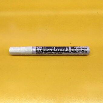 รีวิว Sakura ซากุระ ปากกาเพ้นท์ Paint หัวใหญ่ สีขาว