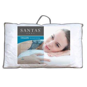 Santas หมอนหนุนไมโครแคปซูล รุ่น Climarelle (ปรับอุณหภูมิขณะหลับ/Cool Comfort)