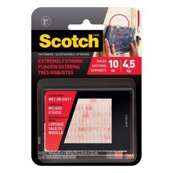 ต้องการขาย Scotch® RF6730 EXT FASTENERS CLR 2 SET OF STRP PACK 6 สก๊อตซ์® RF6730 เทปหนามเตย dual lock Die-cut แรงยึดติดสูง สีใส (ชุด 3 แพ็ค)