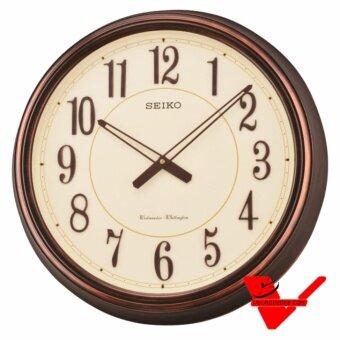 Seiko นาฬิกาแขวนมีเสียงเตือนทุก 15 นาที ขนาด 20 นิ้ว รุ่น QXD212B