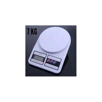 เครื่องชั่งดิจิตอล รุ่น SF400 Kitchen Scale ชั่งได้ 7Kg สีขาว