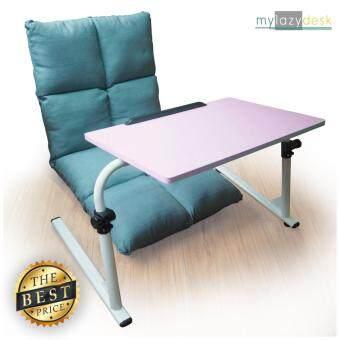 ประกาศขาย ShabbyChic โซฟา-ญี่ปุ่น เก้าอี้ญี่ปุ่น (แพคคู่รุ่น H07-115cmสีฟ้า+J01สีชมพู) โซฟาปรับเอนได้