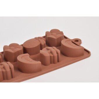 Silikone Craft การ์ตูนน่ารัก ผลไม้ ขนาด 10 หลุม แม่พิมพ์ไซส์มาตรฐานใช้ทำ ขนมไทย วุ้น ชอคโกแลต ฟองดองค์ ตกแต่งหน้าเค้ก ทำน้ำแข็ง Testerสบู่ เทียนแฟนซี เทียนวันเกิด เยลลี่