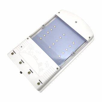 Smartman-Solar cell 15 LED โคมไฟส่องทาง พร้อมขา แสงไฟสีขาว - 3
