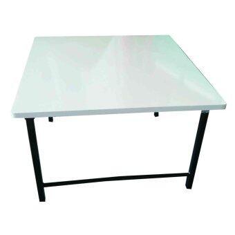 ต้องการขาย SPK Shop โต๊ะญี่ปุ่นกลางโฟฟา โต๊ะวางของเอนกประสงค์ รุ่น กว้าง 80ขาเหล็กสวิงหน้าเมลามีน (สีขาว)