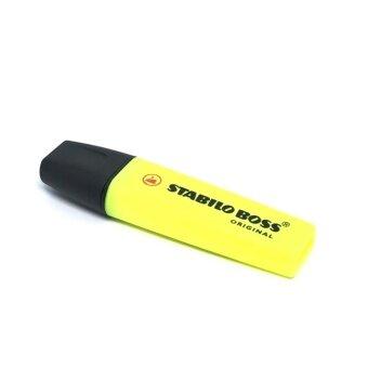 STABILO ปากกาเน้นข้อความ สตาบิโล Boss สีเหลือง