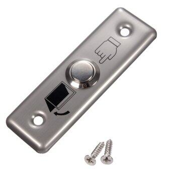 Harga Stainless Switch Panel Door Exit Push Release Button Access Control