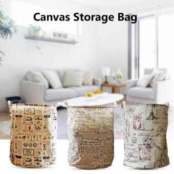 Stand straight-shaped cotton dust debris storage barrels barrels underwear storage barrels Laundry