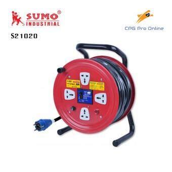 SUMO โรลเก็บสายไฟ 2x1.0 sqmm. (20 ม.) รุ่น S21020