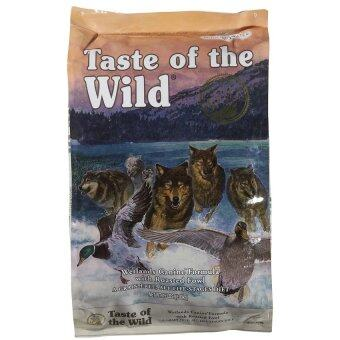 TASTE OF THE WILD roasted fowl อาหารสุนัขโต สูตรนกเป็ดน้ำ ขนาด 30lb