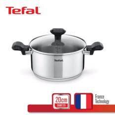 Tefal หม้อสตูว์ 20 ซม. รุ่น Comfort Max พร้อมฝาแก้ว C9734414