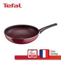 Tefal กระทะก้นลึก 28 ซม รุ่น Pleasure D5021912
