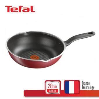 Tefal กระทะก้นลึก+ขอบหยัก ก้นอินดัคชั่น 28 ซม. รุ่น Pure Chef C6176614