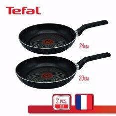 Tefal ชุดกระทะ Super cook JUMBO 24 ซม และ 28 ซม