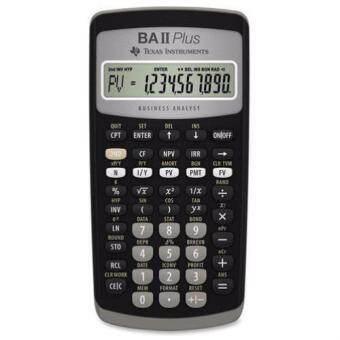 Texas Instruments เครื่องคิดเลขทางการเงิน รุ่น TI BA II Plus (New Model)