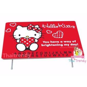 รีวิวพันทิป Thaitrendy โต๊ะญี่ปุ่น โต๊ะทำงาน โต๊ะกินข้าว ขนาด 60x40 ลาย Hello Kitty