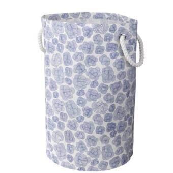 ถังใส่ผ้าภายในห้องนอน ห้องซักรีด ขนาด 28x61 cm (ขาว) -CK