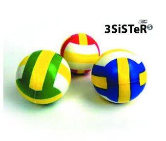 ต้องการขาย The 3 Sisters ลูกวอลเลย์บอลมินิ แพ็ค 6 ลูก คละสี
