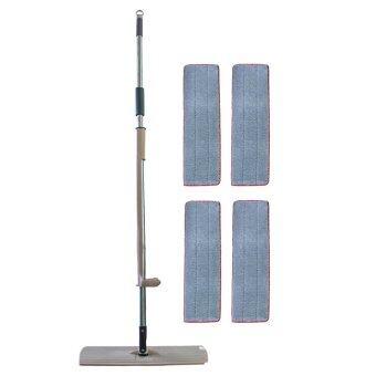 The Lazy U-360 Degree Fibre Mopfree cloths / 4free cloths (mop pad)