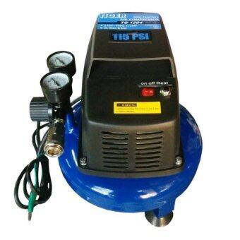 ประกาศขาย TIGER ปั๊มลม4ลิตร1/2HP รุ่น TG-1204 Minipancake (สีน้ำเงิน)