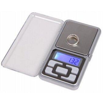 Tmall Digital Scale เครื่องชั่งดิจิตอล จิ๋ว ไซส์บัตร Digital Scale100g-500g ( Silver )