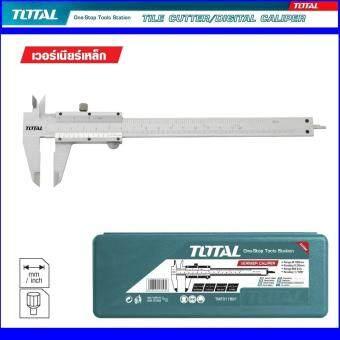 ต้องการขาย Total Hand Tool / Heavy Duty VERNIER Model TMT-311501 ขนาด 6 นิ้วโททัล เวอร์เนี่ยเหล็ก ทำจากแสตนเลสแข็ง ใช้วัดงานละเอียดวัดแบบเชิงเส้น ล๊อคค่าด้วยสกรูหัวเหล็ก สำหรับงานหนัก ใช้งานง่ายปลอดภัย มาตรฐานญี่ปุ่น 1 แพ็ค 1 ชิ้น 1 ชุด