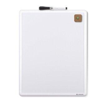อยากขาย U Brands : UBD252U00-04* กระดานไวท์บอร์ดพร้อมปากกา Contempo Magnetic Dry Erase Board 11 x 14 Inches White Frame