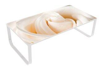 U-RO DECOR JAPZY โต๊ะกลาง/โต๊ะญี่ปุ่น อเนกประสงค์ รุ่น ROSY-L(ขาสีขาว)