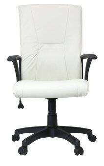 อยากขาย U-RO DECOR เก้าอี้สำนักงาน รุ่น LAZER - สีครีม
