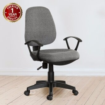 U-RO DECOR เก้าอี้สำนักงาน รุ่น PARMA-L (สีเทา)
