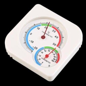 เปรียบเทียบราคา UINN Nursery Baby House Room Mini Thermometer Wet Hygrometer Temperature Meter - intl