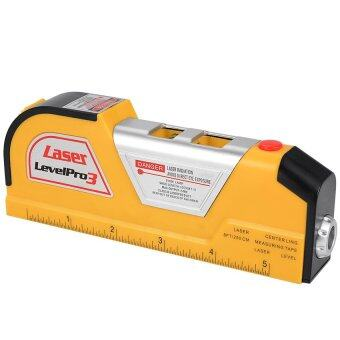 Uni เครื่องมือวัด 8FT Laser Level Horizon Vertical Line TapeAligner Ruler Accurate Measure BI163