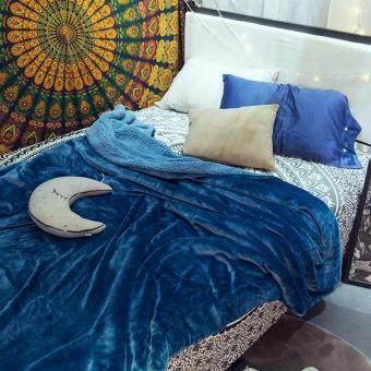 ผ้าห่มขนแกะ ผ้าห่มขนนุ่ม Utimate Sherpa Throw Blanket ขนาด 200x230 (6ฟุต)