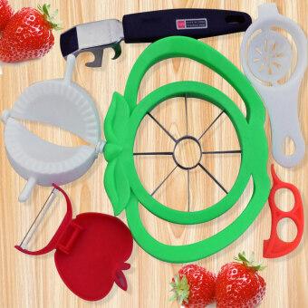 ผลไม้มีดป้องกันน้ำร้อนลวก wallets คั่นไข่ตัดแอปเปิ้ล
