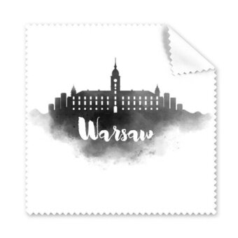 Warsaw Poland Ink City Glasses Cloth Cleaning Cloth Gift PhoneScreen Cleaner 5pcs