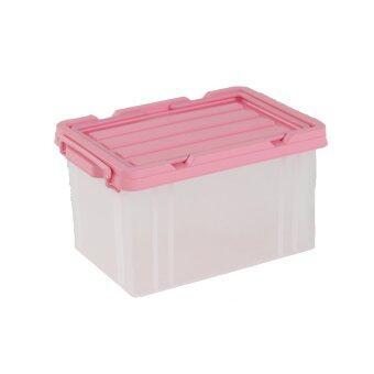 ต้องการขาย WELL WARE กล่องเก็บของเอนกประสงค์ 24ลิตร AG1024 (Pink)
