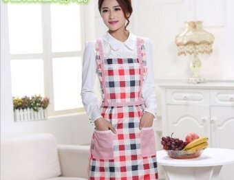 Harga WI Apron double double waterproof foreign trade han versionprincess apron - intl