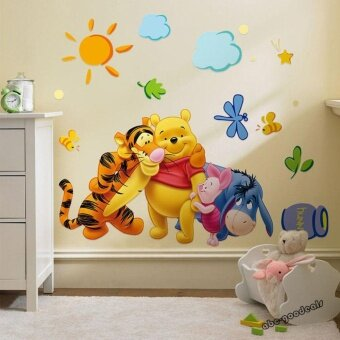 Winnie the Pooh Nursery Room Wall Decal Decor Stickers For KidsBaby - intl