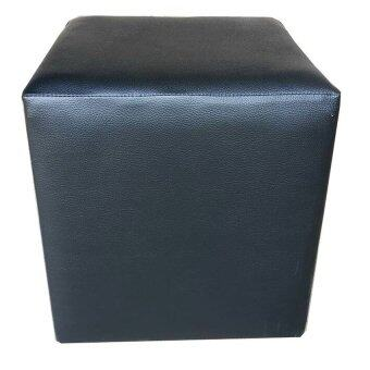 ต้องการขาย เก้าอี้สตูล ทรงลูกเต๋า รุ่น WP-PH1 ผ้าหนังเทียม ขนาด 30x30 cm
