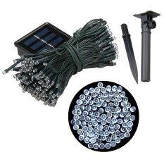 XML-Solar ไฟกระพริบโซล่าเซลล์ 200 LED (8 ฟังก์ชั่น) แสง : ขาว