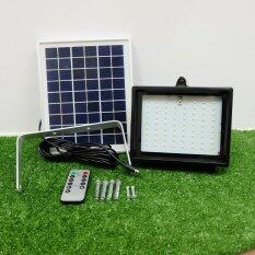 XML-Solar ไฟสปอตไลท์โซล่าเซลล์ 72 LED เเสง : ขาว