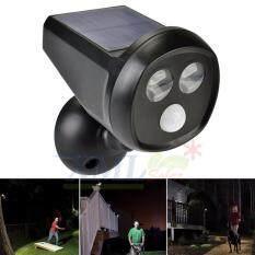 XML-Solar ไฟส่องทางโซล่าเซลล์ ทรง CCTV + Motion sensor รุ่นใหม่