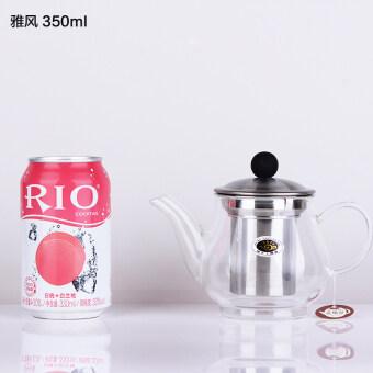 Yafeng ใหม่หนาอุณหภูมิสูงแก้วกาน้ำชา