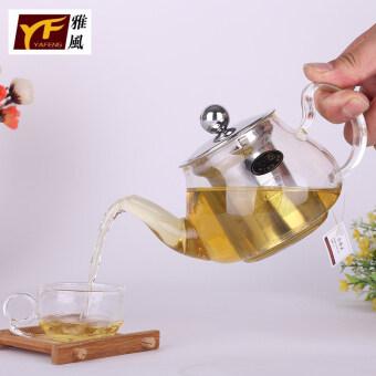 YAVON สแตนเลสแก้วกาน้ำชาแก้วกาน้ำชา