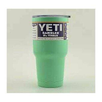แก้วน้ำเก็บอุณหภูมิ(YETI)สีเขียว