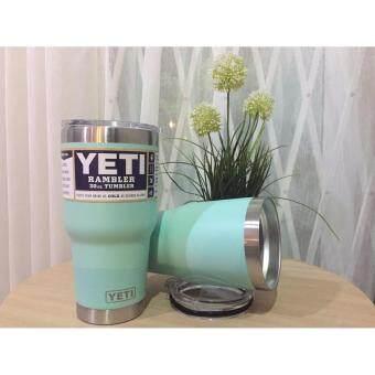 แก้วเก็บความเย็น Yeti 30 oz สีเขียวมิ้นท์