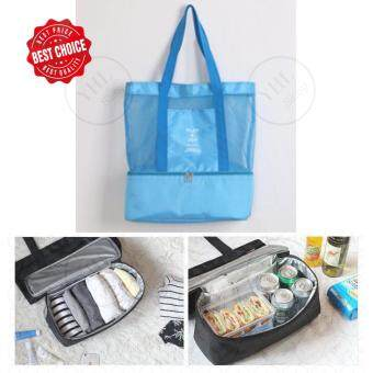 YHL กระเป๋าเก็บอุณหภูมิ แฟชั่น กระเป๋าเก็บความร้อน-เย็นกระเป๋าเดินทาง ใส่อาหาร อเนกประสงค์ จัดระเบียบ Lunch Bag Picnic BagHot Bag Cooler Bag