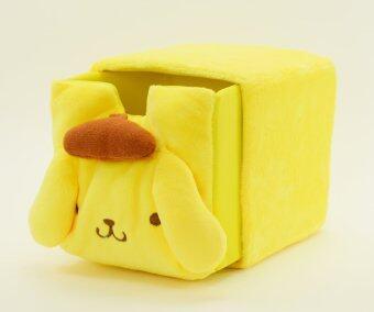 YMH กล่องใส่ของอเนกประสงค์ Pom Pom Purin ขนาดเล็ก (สีเหลือง)